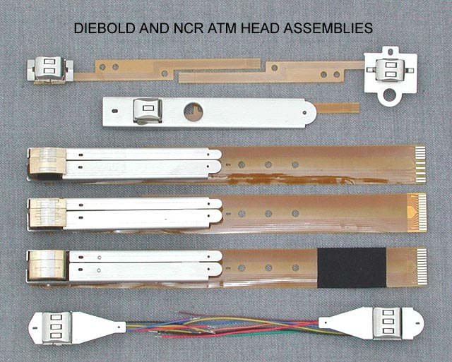 ATM Parts for Diebold and NCR ATM Machines